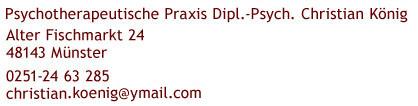 Praxis Koenig Adresse